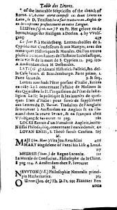 Bibliothèque universelle et historique: Volume8