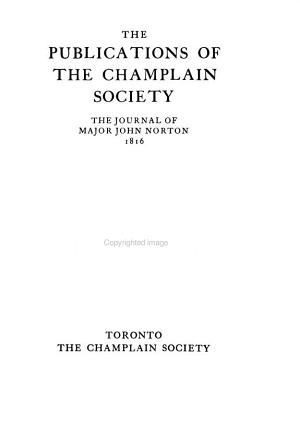 The Publications of the Champlain Society PDF