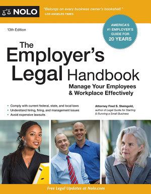 The Employer s Legal Handbook PDF