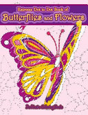 Extreme Dot to Dot Book of Butterflies and Flowers