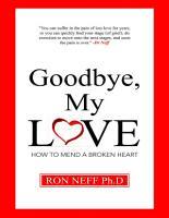 Goodbye  My Love PDF