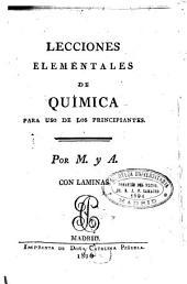 Lecciones elementales de química: para uso de los principiantes