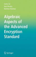 Algebraic Aspects of the Advanced Encryption Standard