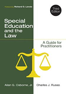 Special Education and the Law Book