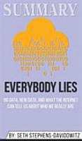 Summary of Everybody Lies PDF