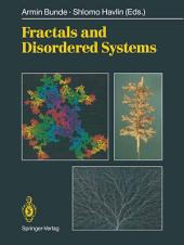 Fractals and Disordered Systems