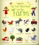 My First Word Book on the Farm Book
