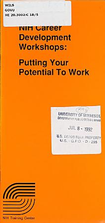 NIH Career Development Workshops PDF