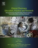 Clinical Pharmacy Education  Practice and Research PDF