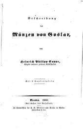 Beschreibung der Münzen von Goslar
