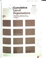 Cumulative List of Organizations Described in Section 170 (c) of the Internal Revenue Code of 1986