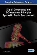 Digital Governance and E-Government Principles Applied to Public Procurement