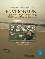 Encyclopedia of Environment and Society PDF