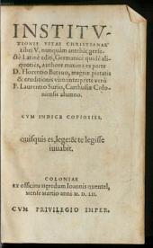 Institutionis vitae Christianae libri V