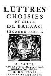 Lettres Choisies: Volume2