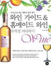 와인 가이드&홈메이드 와인 무작정 따라하기