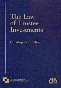 The Law of Trustee Investments PDF