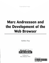 Marc Andreessen and the Development of the Web Browser PDF
