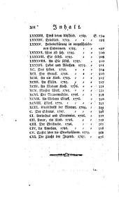 Gedichte von Friedrich Wilhelm Gotter: Band 1
