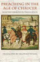 Preaching in the Age of Chaucer PDF