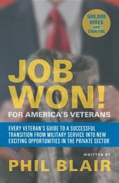 Job Won! for America'S Veterans