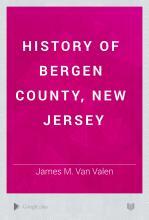 History of Bergen County  New Jersey PDF