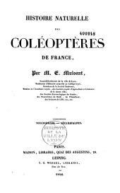 Histoire naturelle des coléoptères de France