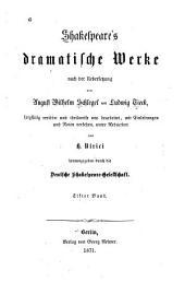 Shakespeare's dramatische Werke: Volume 11