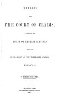 Reports from the Court of Claims PDF