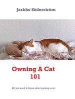 Owning A Cat 101