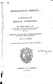Another Archæologia Biblica, a manual of Biblical antiquities
