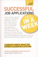 Successful Job Applications In a Week A Teach Yourself Guide PDF