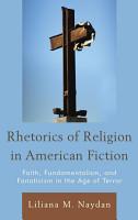 Rhetorics of Religion in American Fiction PDF