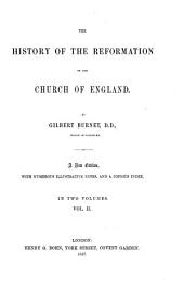 The History of the Reformation of the Church of England: Volume 2