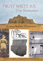 First Writers the Sumerians PDF