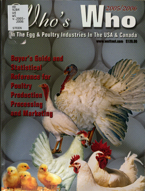 Who s who in the Egg and Poultry Industries in the United States and Canada
