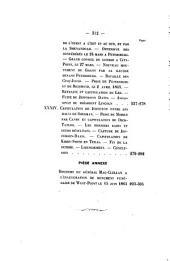 Guerre de la sécession: esquisse des événements militaires et politiques des États-Unis de 1861 à 1865, Volumes1à3