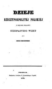 Dzieje Rzeczypospolitéj Polskiej: Tomy 5-6