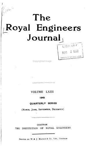 The Royal Engineers Journal