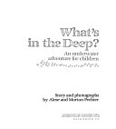 Download What s in the Deep  Book