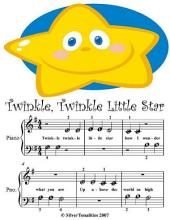Twinkle Twinkle Little Star - Beginner Tots Piano Sheet Music