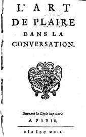 L' Art De Plaire Dans La Conversation