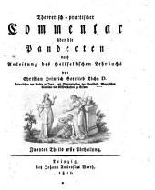 Theoretisch-practischer Commentar über die Pandecten nach Anleitung des Hellfeldschen Lehrbuchs: Zweyten Theils erste Abtheilung, Volume 2, Issue 1