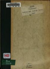 Índice del código civil puesto en órden alfabético por el licenciado Don Manuel Gormaz ...