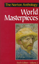 The Norton Anthology of World Masterpieces  Literature of Western culture since the Renaissance