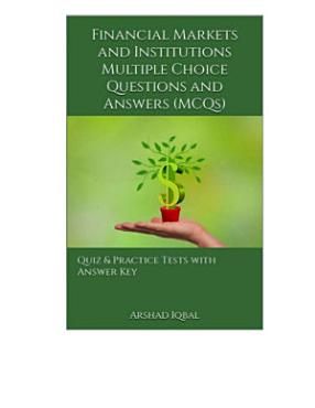 Financial Markets and Institutions Multiple Choice Questions and Answers  MCQs  PDF