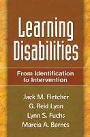 Learning Disabilities  First Edition PDF