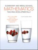 Elementary and Middle School Mathematics PDF