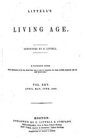 The Living Age: Volume 25