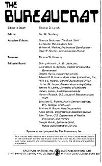 The Bureaucrat PDF